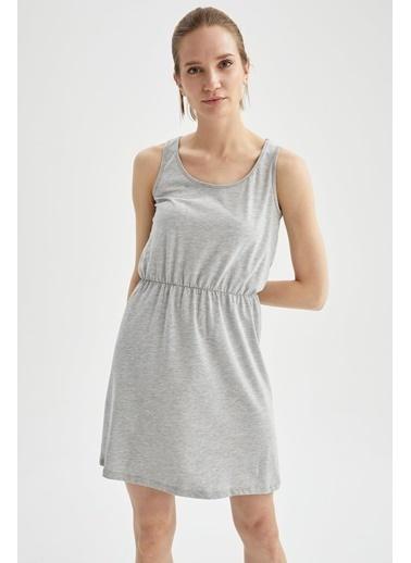 DeFacto Elbise Gri